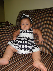 Baby Khalisya with ZARA dress (with hairband)