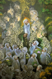 نقاشی از اردشیر مجرد تاکستانی