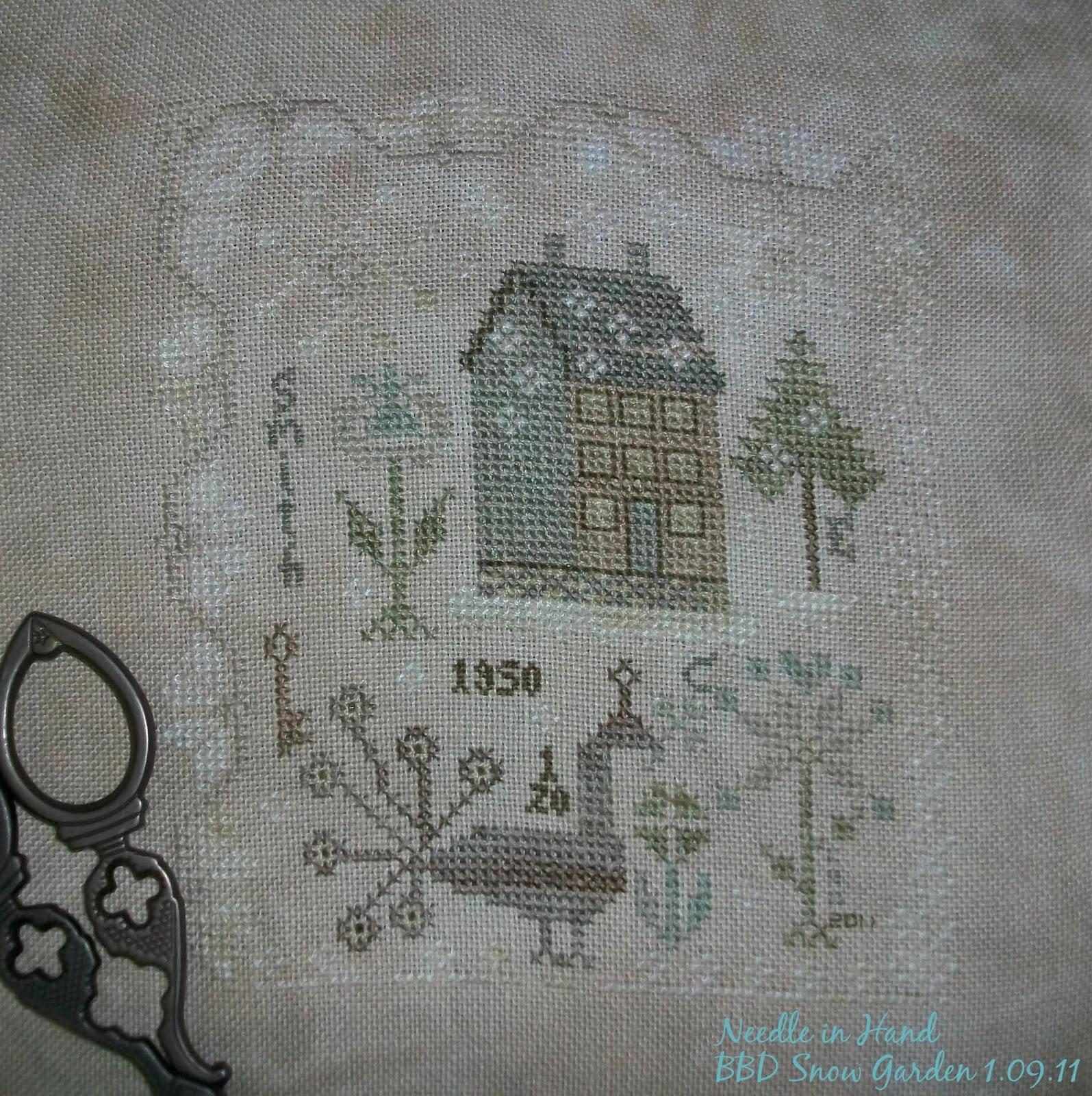 Blackbird designs community blog for embroiderers for Blackbird designs tending the garden