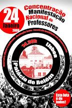 TODOS À CONCENTRAÇÃO 24/JAN!