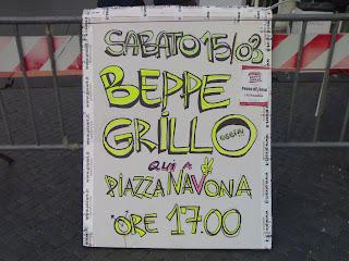 beppe grillo, rome, rome en images, italie