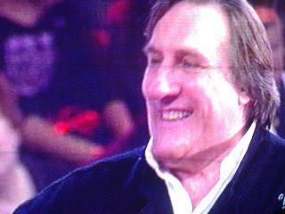 gérard depardieu, la 5, rome en images, ialie