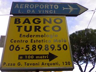 aéroport léonard de vinci, rome