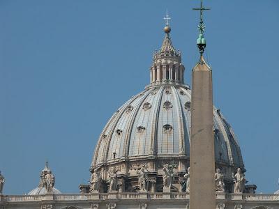 coupole saint pierre, vatican, rome, italie, rome en images