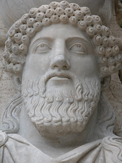 patience, statue romaine, rome, italie, rome en images