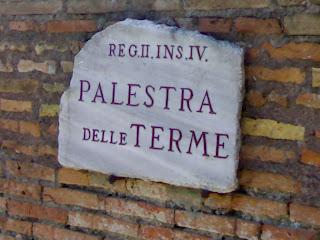 ostia antica, italie