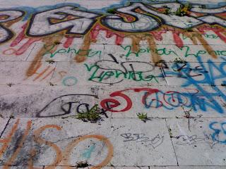 mur à rome, italie