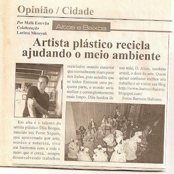 Reportagem do Jornal Topa Tudo