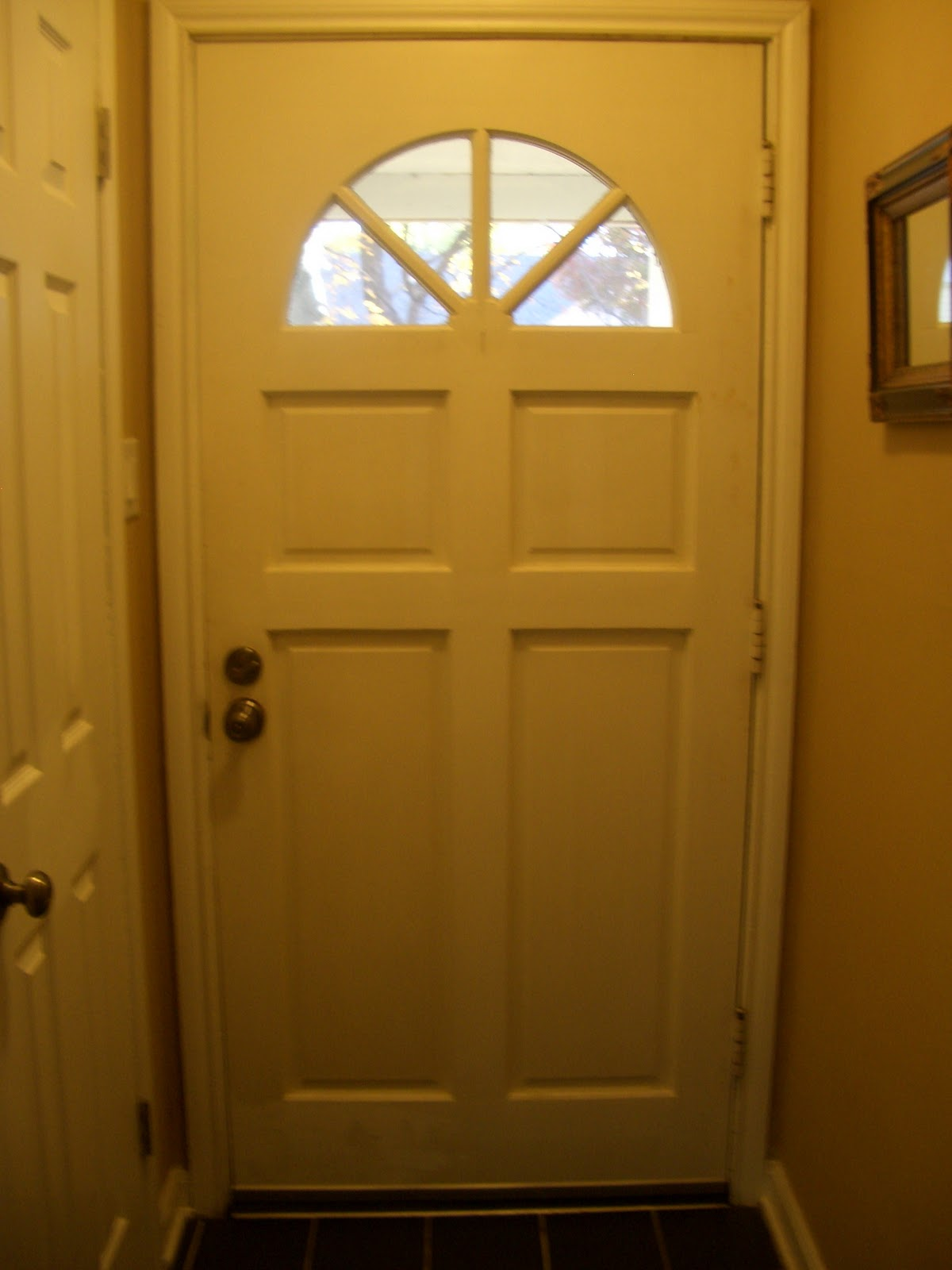 Cool Home Creations Painting Front Door Interior