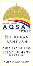 AqsaSyarif-Memperkasa Ummah, Membebaskan Al Aqsa