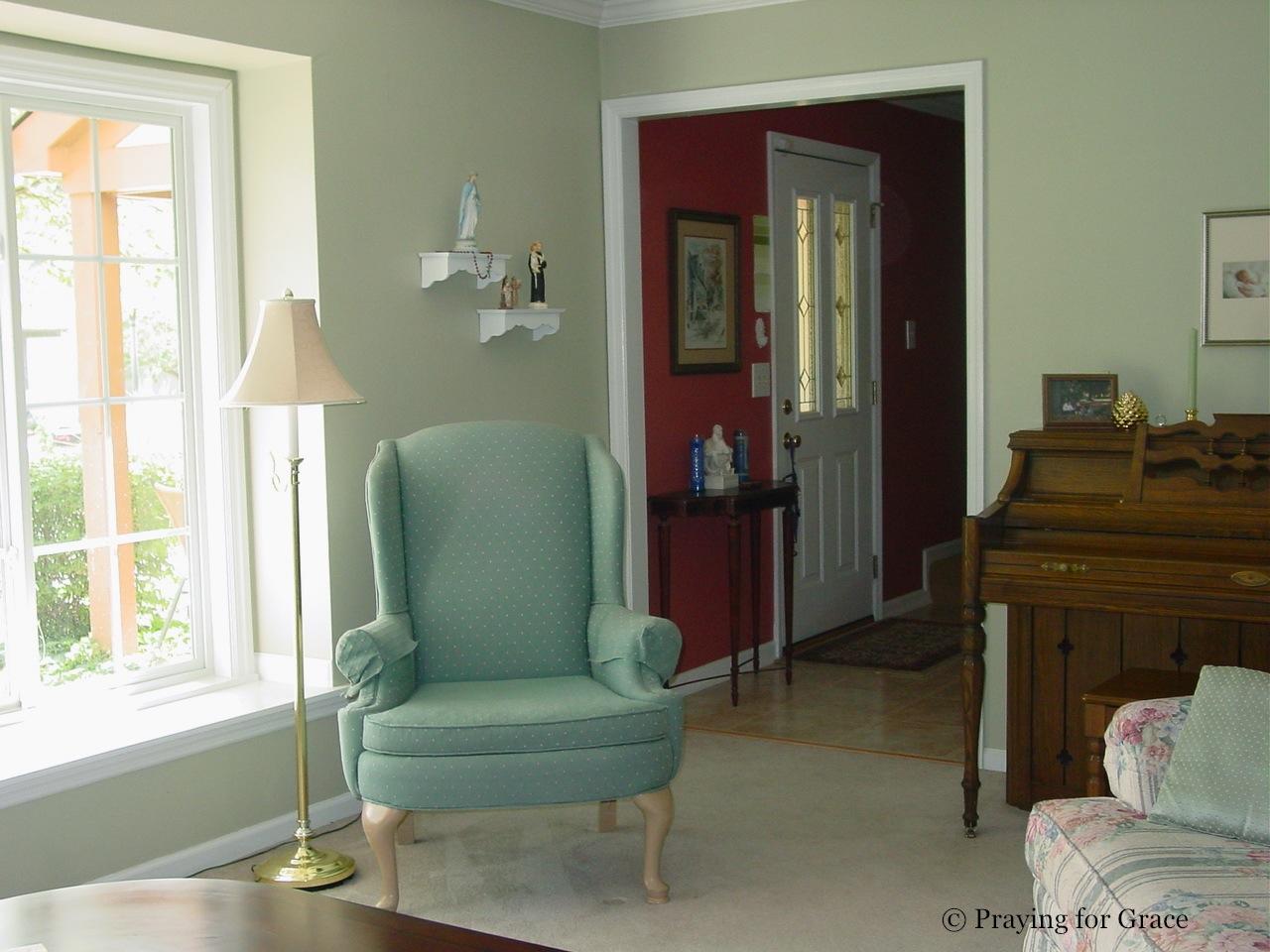 Light green and brown living room for Light brown living room