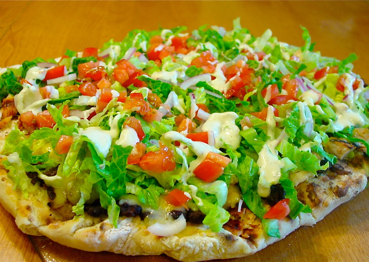 Bless Us O Lord...: Tostada Pizza