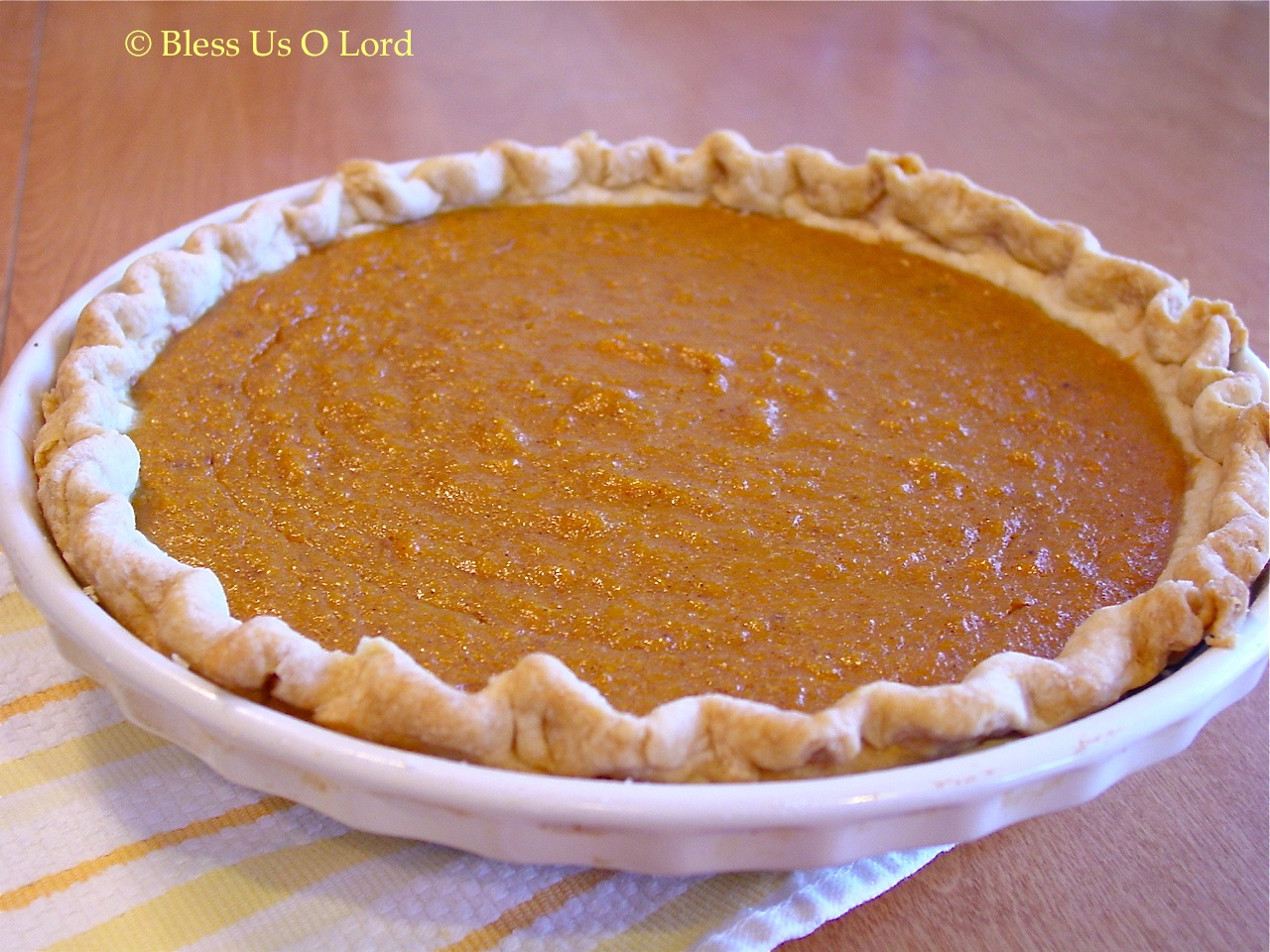 Bless Us O Lord...: Sweet Potato Pie