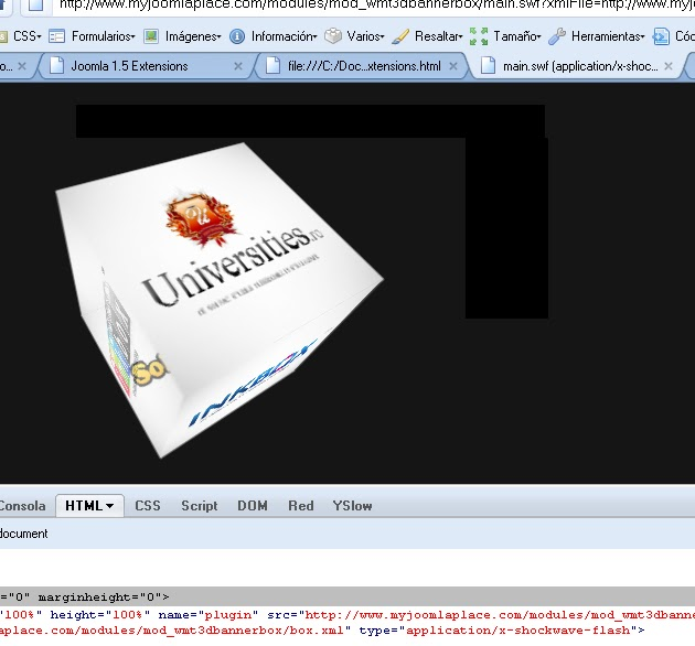 cubo joomla 3d anuncios hack