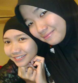 adik and me..