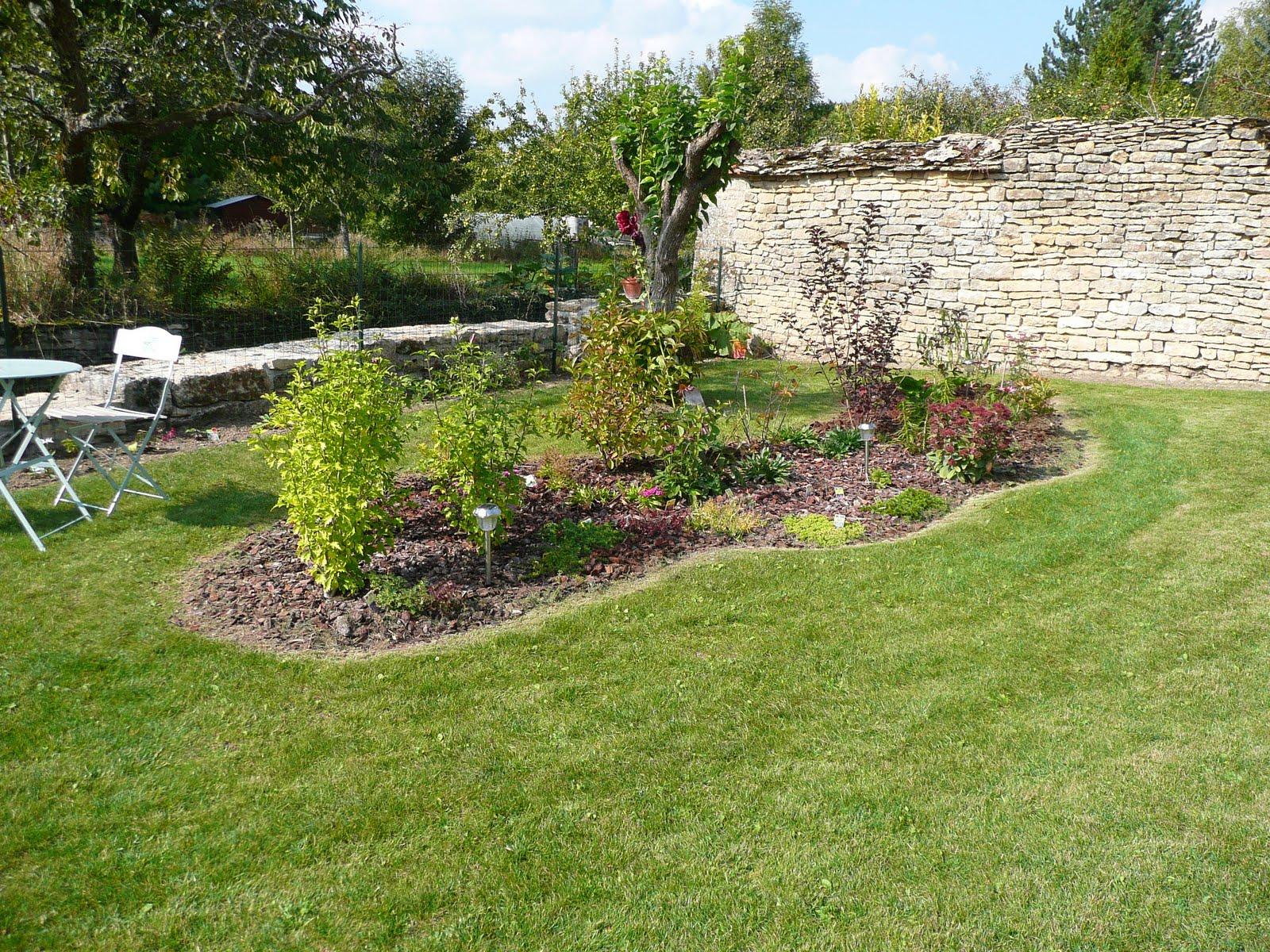 Notre jardin secret massif haricot evolution for Massif decoratif jardin
