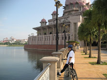 Cycling in Putrajaya