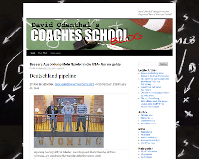 David Odenthal´s Blog for Coaches, Players and Fans of American Football