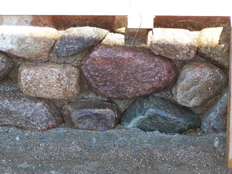 Slipform Stone Masonry : Acres and a dog july