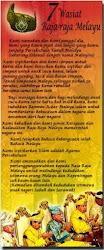 7 Wasiat Raja-Raja Melayu
