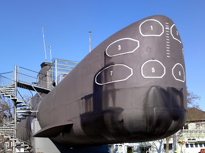 technikmuseum, submarine