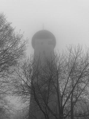 mist, tower