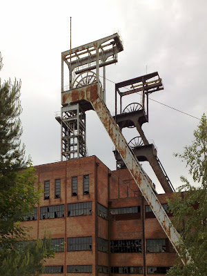 colliery, pit head, rust
