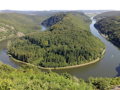 river bend, saar