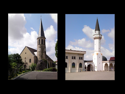 church, church spire, minaret, mosque