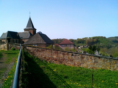 church, panorama,