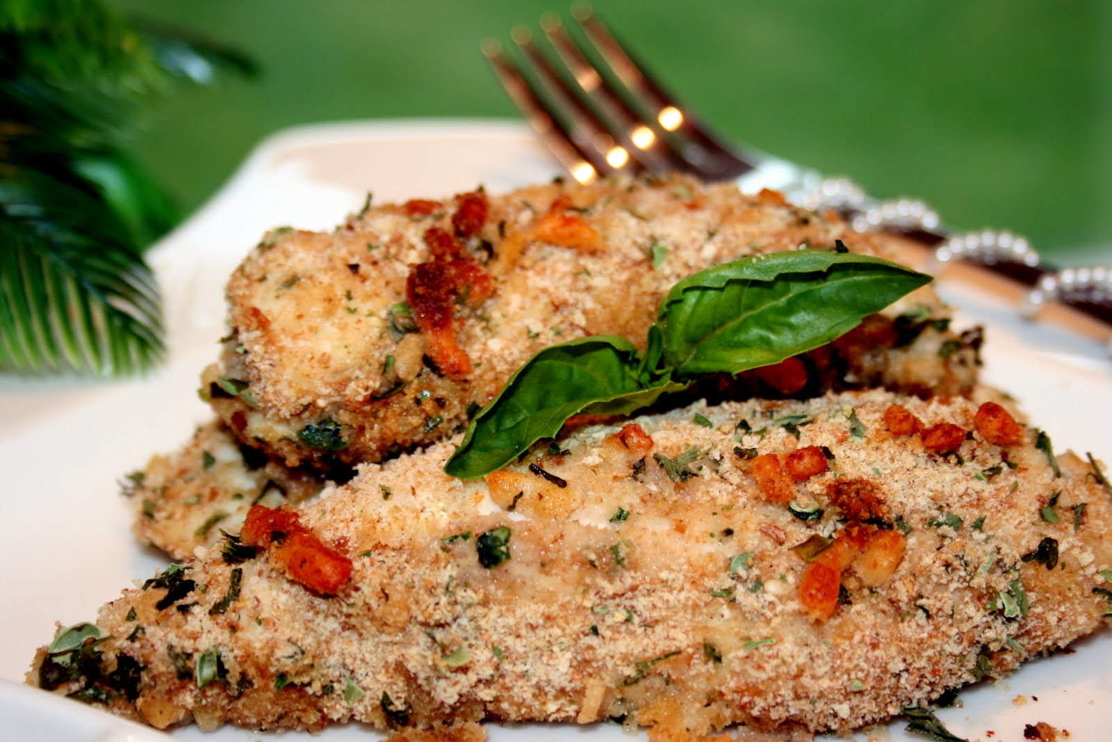 Tink's Treats: Oven-Baked Chicken Romano