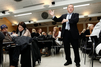 Lars Løkke egner sig vist ikke helt til Vild med Dans