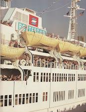 Navios de cruzeiro que visitei