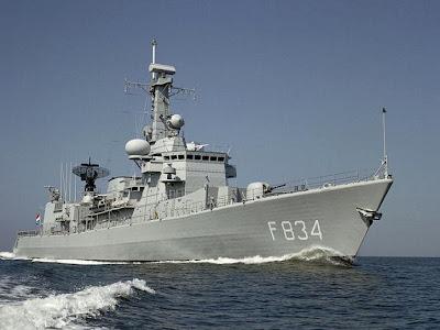 Marinha portuguesa recebe primeira fragata da classe Bartolomeu Dias
