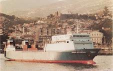 """O 1º navio RO/RO português """"Cidade de Funchal"""""""