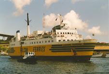 Caracol-amarelo o pioneiro dos ferrys em Portugal