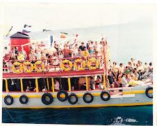 Barcos à cunha no Porto Santo
