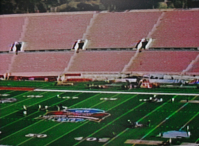 ROSE BOWL FIELD SHOT