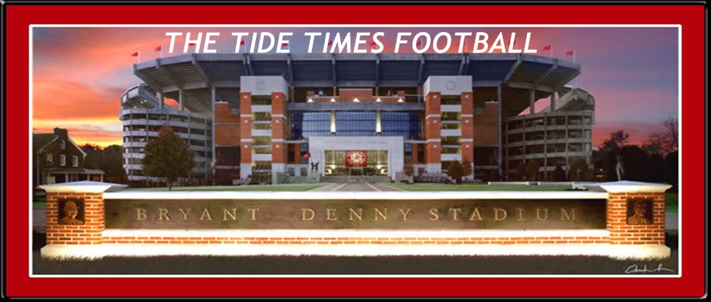 THE TIDE TIMES FOOTBALL- YOUR SOURCE FOR COVERAGE ON THE 2009 BCS NATIONAL CHAMPIONS