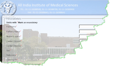 AIIMS Online Form