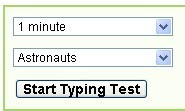 Test of 1 minute 2 minute amp 3 minute duration gives you your typing
