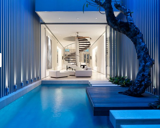 Part Two Of My Dream House Is The Indoor Pool More For Cold Winter Nights And Fabulous Parties I Like Idea This