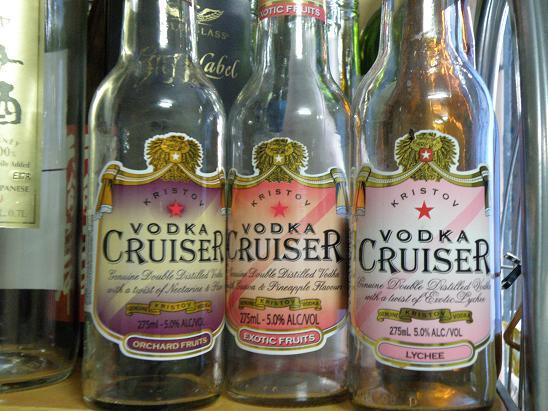 how to make vodka cruiser