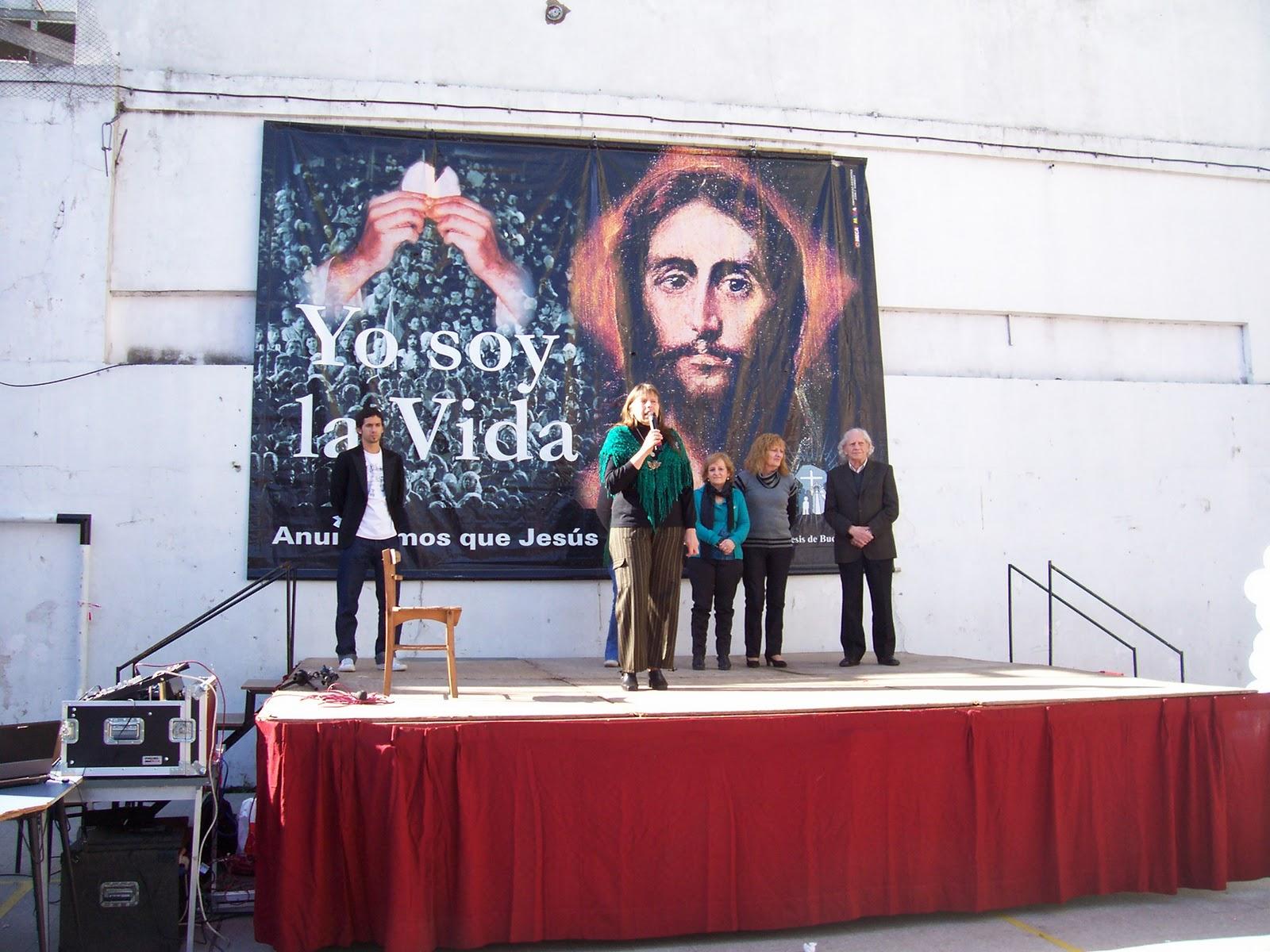 Ida De Vincenzo: Ida de Vincenzo en el Instituto de Nuestra Sra de ...