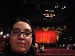 Viendo el Fantásma de la Ópera