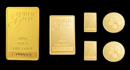 HARGA EMAS PUBLIC GOLD ( 999.9 ) TERKINI