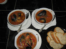 Mussel Scallop Soup