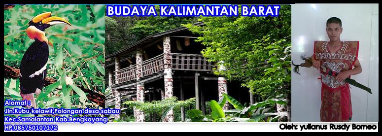 Budaya Dayak Kalimantan Barat