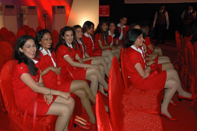 Kingfisher air hostesses