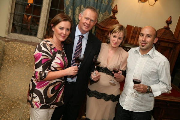 Our Wine Tasting Evening at Waterford Castle 2008